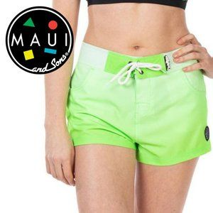 Maui and Sons Stretch Board Shorts - Size L
